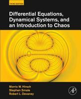 Differential Equations  Dynamical Systems  and an Introduction to Chaos PDF