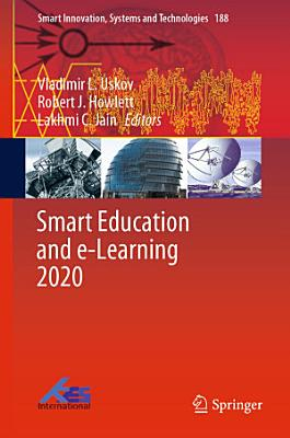 Smart Education and e Learning 2020 PDF