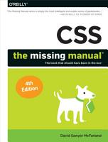 CSS  The Missing Manual PDF