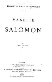 Manette Salomon: Volume 1