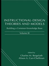 Instructional Design Theories and Models  Volume III PDF