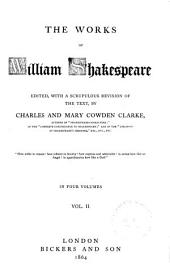 All's well that ends well. Twelfth night. Winter's tale. King John. King Richard II. King Henry IV, part 1. King Henry IV, part 2. Henry V. King Henry VI, part 1 King Henry VI, part 2