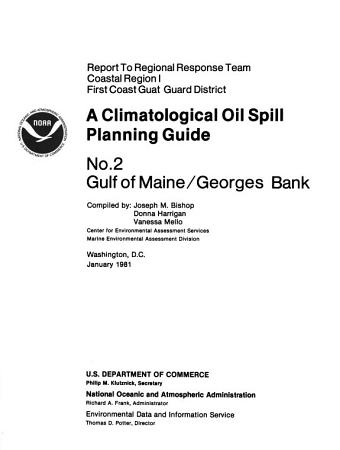 A Climatological Oil Spill Planning Guide PDF