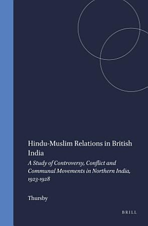 Hindu Muslim Relations in British India PDF