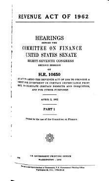 Revenue Act of 1962 PDF