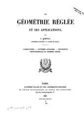 La géométrie réglée et ses applications