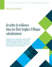 Building Resilience in Sub-Saharan Africa's Fragile States