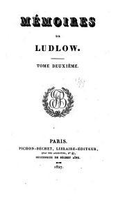 Mémoires de Ludlow: Volume7