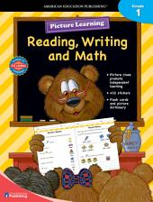 Picture Learning Reading, Writing, and Math for Grade 1, Grade 1