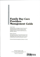 Family Day Care Providers Management Guide PDF