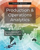 Production and Operations Analytics PDF
