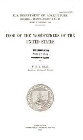 Food of the woodpeckers of the United States