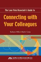 The Law Firm Associate s Guide to Connecting with Your Colleagues PDF