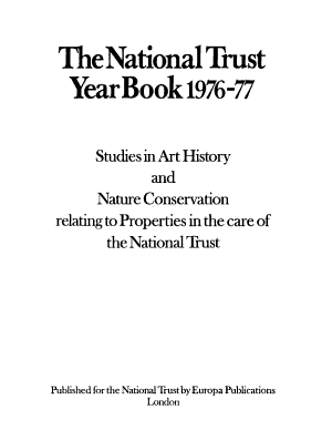 The National Trust Year Book