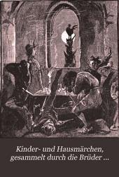 Kinder- und Hausmärchen, gesammelt durch die Brüder Grimm, with notes by G.E. Fasnacht