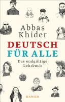Deutsch f  r alle PDF
