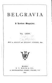 Belgravia: Volume 75
