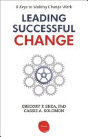 Download Leading Successful Change Book
