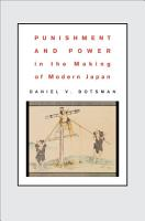 Punishment and Power in the Making of Modern Japan PDF