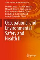 Occupational and Environmental Safety and Health II PDF