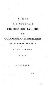 De situ et origine Syracusarum ad explicandam Thucydidis potissimum historiam