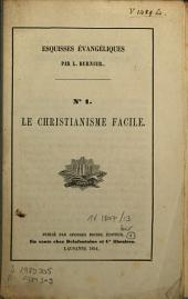 Le christianisme facile