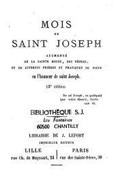 Mois de Saint Joseph