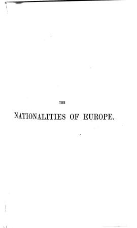 The Nationalities of Europe PDF