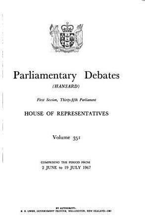 Parliamentary Debates  House of Representatives PDF