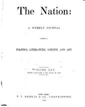 The Nation: Volume 30