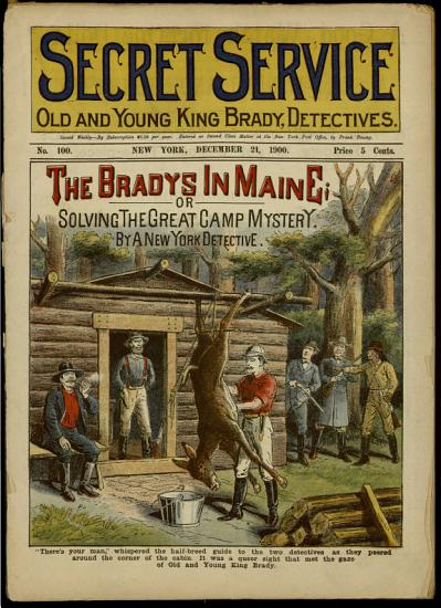 The Bradys in Maine  Or  Solving the Great Camp Mystery PDF
