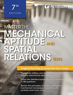 Master The Mechanical Aptitude and Spatial Relations Test PDF