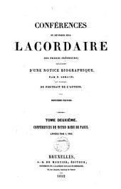 Conférences du révérend père Lacordaire: Volume2