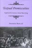 Textual Promiscuities PDF