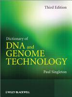 Dictionary of DNA and Genome Technology PDF