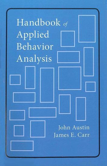 Handbook of Applied Behavior Analysis PDF