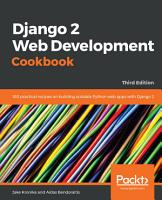 Django 2 Web Development Cookbook PDF
