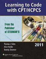 Learning to Code with CPT HCPCS 2011 PDF