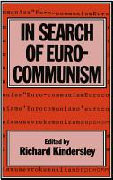 In Search of Eurocommunism PDF