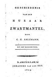 Geschiedenis van den huzaar Zwartmantel