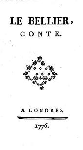 Oeuvres du comte Antoine Hamilton: ¬Le bellier conte : [Poésies], Volume4