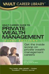 Vault Career Guide to Private Wealth Management PDF
