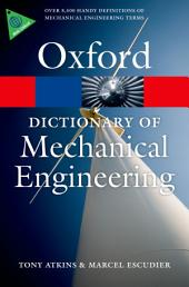 A Dictionary of Mechanical Engineering