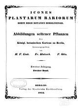 Abbildungen seltener Pflanzen des Königl. Botanischen Gartens zu Berlin