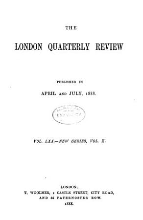 The London Quarterly and Holborn Review PDF