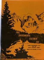 Final Environmental Statement for Timber Management Plan for the Routt National Forest PDF