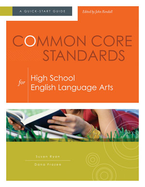 Common Core Standards for High School English Language Arts