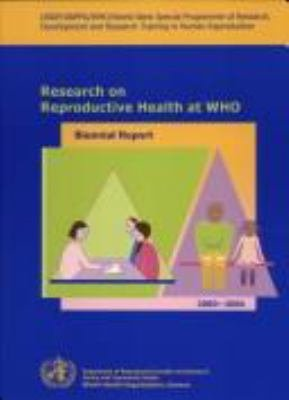 Research on Reproductive Health at WHO PDF