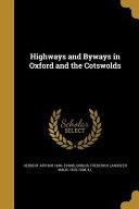 HIGHWAYS & BYWAYS IN OXFORD &