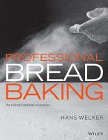 Professional Bread Baking PDF